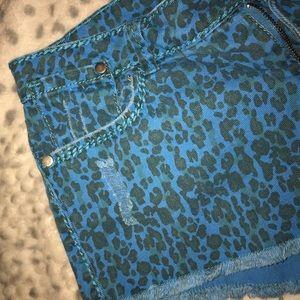 Forever 21 Leopard Print Shorts